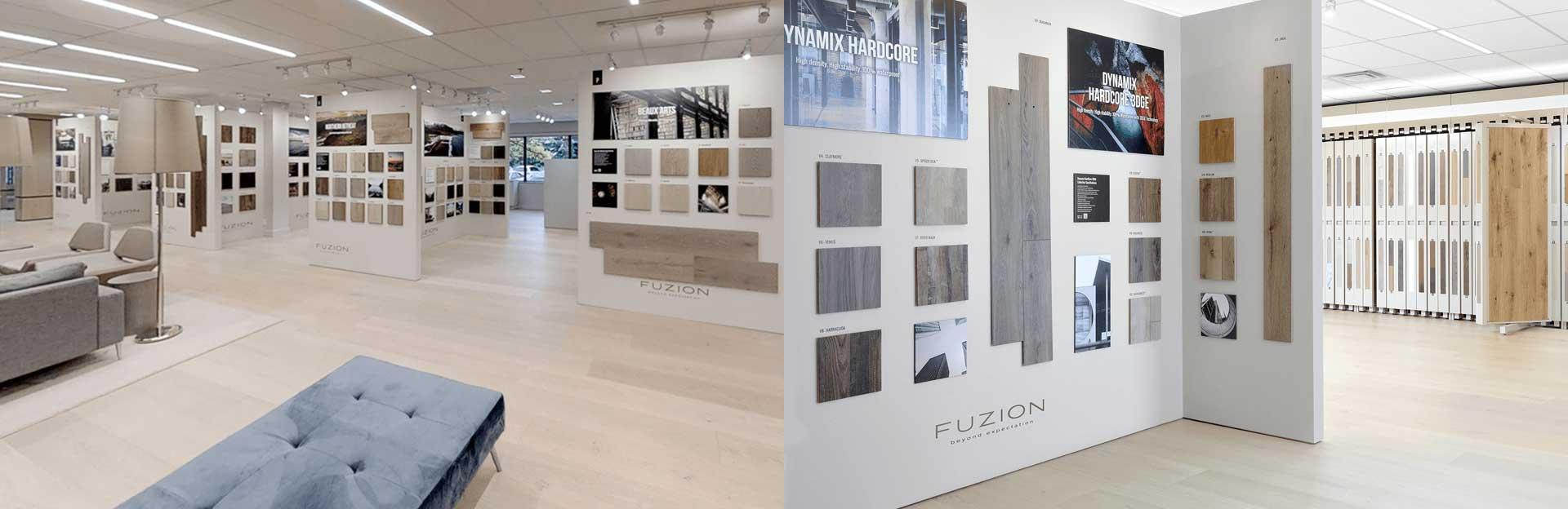 Fuzion Showroom - Branding and Marketing